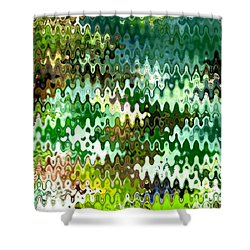 Shower Curtain featuring the photograph Forest by Anita Lewis