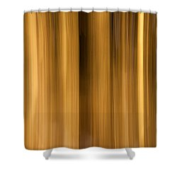 Shower Curtain featuring the photograph Abstract Forest by Davorin Mance