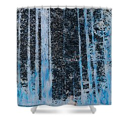 Forest Four Hours Of Daylight Shower Curtain by Graham Dean