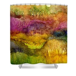Forest Shower Curtain by Hailey E Herrera