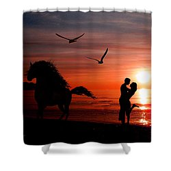 Forever And A Day Shower Curtain by EricaMaxine  Price