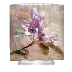 Forever Blossom Shower Curtain by Elaine Manley