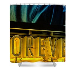 Forever Shower Curtain by Karol Livote