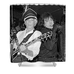 Shower Curtain featuring the photograph Forever Rock N Roll Young by Steven Macanka