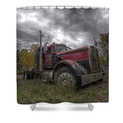 Forgotten Big Rig 2014 V2 Shower Curtain