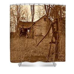 Forgotten Farmhouse Shower Curtain