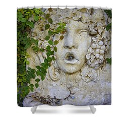 Forgotten Garden Shower Curtain by Laurie Perry