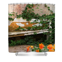 The Forgotten Garden Shower Curtain