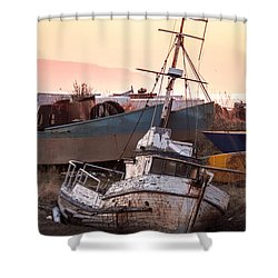 Forgotten In Homer Shower Curtain by William Fields