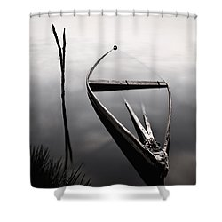 Forgotten In Time Shower Curtain by Jorge Maia