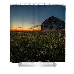 Forgotten On The Prairie Shower Curtain