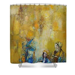 Forgotten Rituals Shower Curtain