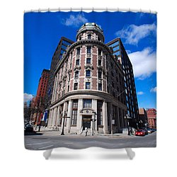 Shower Curtain featuring the photograph Fork Albany N Y by John Schneider