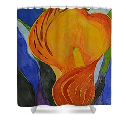 Form Shower Curtain by Beverley Harper Tinsley