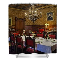 Formal Dining Room Shower Curtain by Susan Candelario