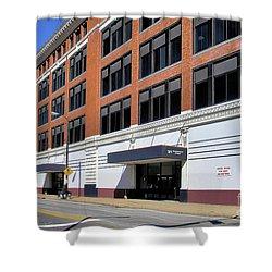 Former Penn Traffic Bldg - Johnstown Pa Shower Curtain