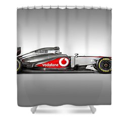 Formula 1 Mclaren Mp4-28 2013 Shower Curtain