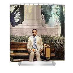 Forrest Gump Shower Curtain
