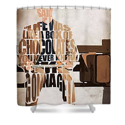 Forrest Gump - Tom Hanks Shower Curtain