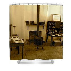 Fort Delaware General Office Shower Curtain