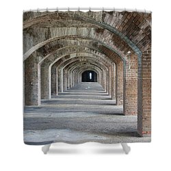 Fort Jefferson Arches Shower Curtain