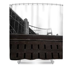 Fort Point Shower Curtain