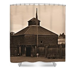 Fort Western Shower Curtain