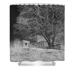 Fort Williams In Ir 3 Shower Curtain by Joann Vitali