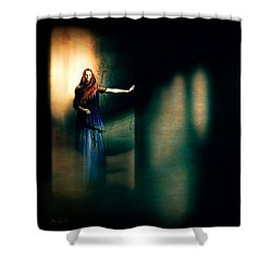 Fortune Teller Shower Curtain by Bob Orsillo