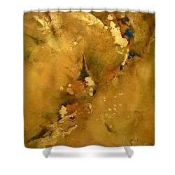 Fossils 3 Shower Curtain