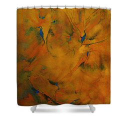 Fossils Birds And Butterflys Shower Curtain