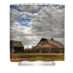 Found On The Prairies Shower Curtain