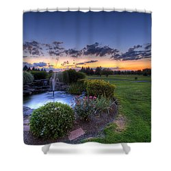 Salem Ohio Golf Shower Curtain