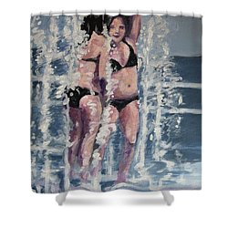 Fountain Fun Shower Curtain