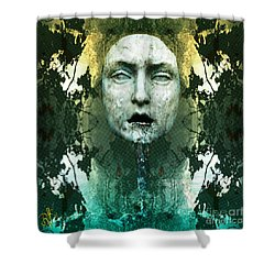 Fountainhead Dream Shower Curtain