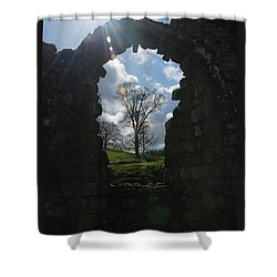 Fountains Abbey Shower Curtain