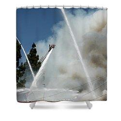 Four Alarm Blaze 003 Shower Curtain