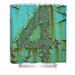Four Shower Curtain by Ramona Johnston