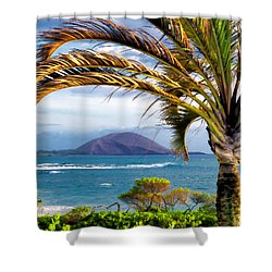 Four Seasons 110 Shower Curtain