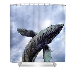 Four Seasons 59 Shower Curtain