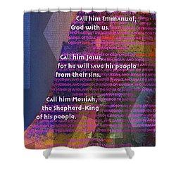 Fourteen Generations Shower Curtain by Chuck Mountain