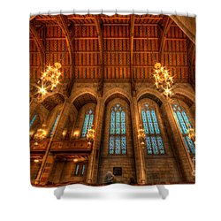 Fourth Presbyterian Church Chicago Shower Curtain