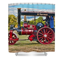Fowler Road Roller Shower Curtain