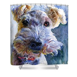 Fox Terrier Full Shower Curtain