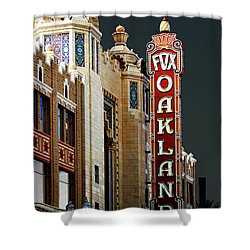 Fox Theater . Oakland California Shower Curtain