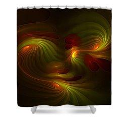 Foxhole Fysix -- Kinesia Shower Curtain
