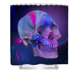 Fracskull 2 Shower Curtain