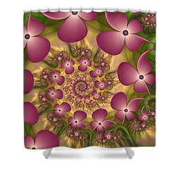 Fractal Joy Shower Curtain