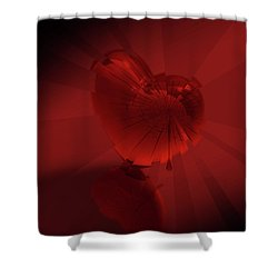 Fracture II Shower Curtain
