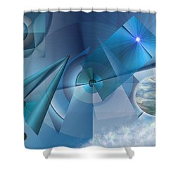 Interdimensional Shower Curtain
